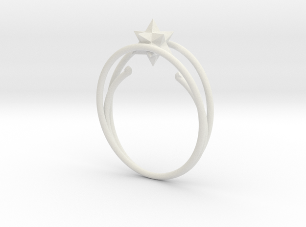 anello ico in White Natural Versatile Plastic