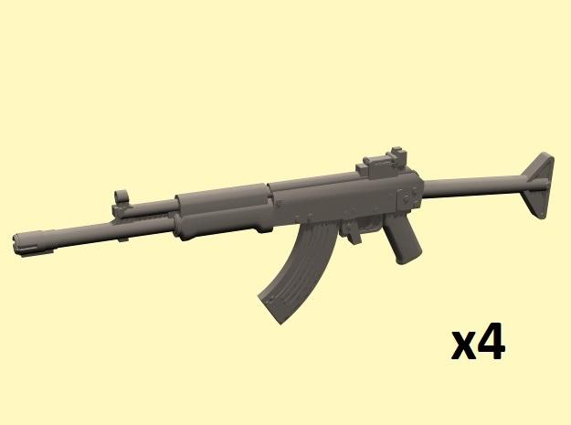 1/24 Valmet M76 x4 in Smoothest Fine Detail Plastic