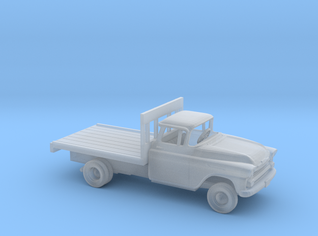 1/160 1958 Chevrolet Apache Flatbed Kit in Smooth Fine Detail Plastic