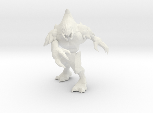 Psy-Prawn 2 in White Natural Versatile Plastic