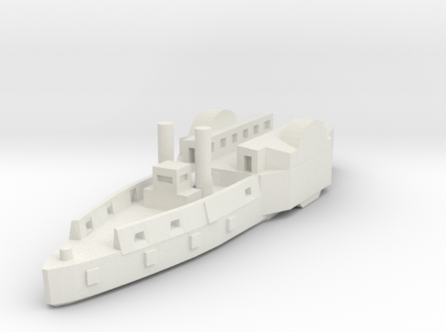 1/600 US Timberclad in White Natural Versatile Plastic