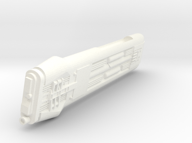 1400 ktinga Nacelle L in White Processed Versatile Plastic