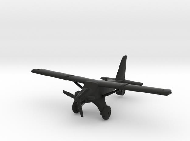 de Havilland Canada DHC-2T Turbo Beaver in Black Natural Versatile Plastic