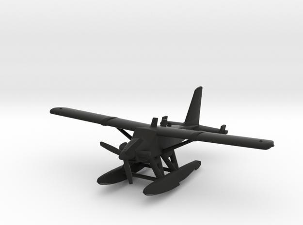 de Havilland Canada DHC-2T Turbo Beaver Seaplane in Black Natural Versatile Plastic