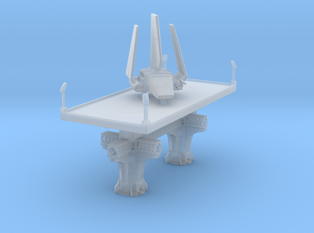 Imperial Landing platfom in Smooth Fine Detail Plastic