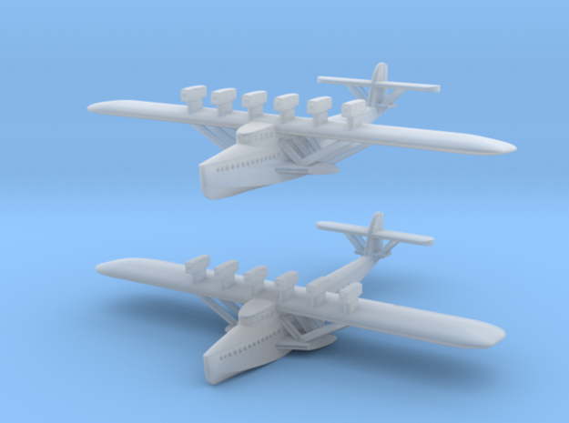 Dornier Do X  Flying Boat Set in Smoothest Fine Detail Plastic: 1:1250