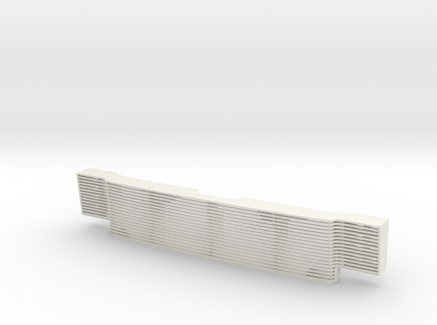 RC4WD Chevy Blazer Billet type grill in White Natural Versatile Plastic