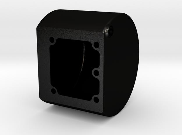 Rauchkammer für Rauchgenerator D=40mm in Matte Black Steel