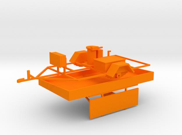 Wanco WTLMB Traffic Sign in Orange Processed Versatile Plastic: 1:43