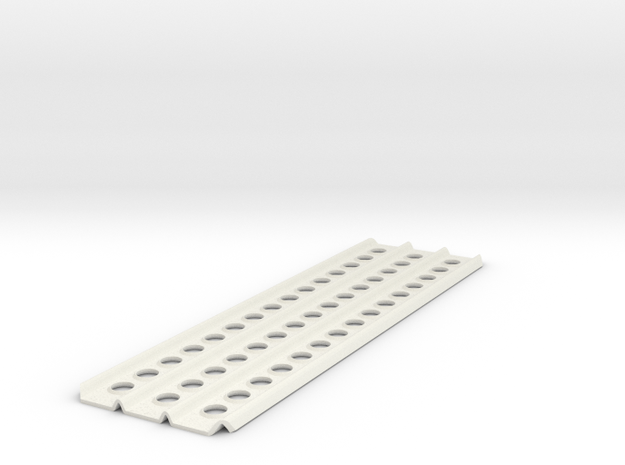 """1/8 scale sand ladder 200mm/7.9"""" in White Natural Versatile Plastic"""