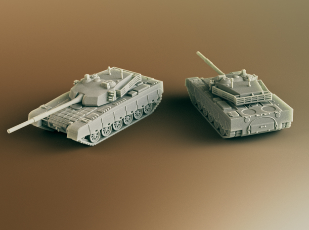 Type 90-II Chinese MBT Scale: 1:200 in Smooth Fine Detail Plastic