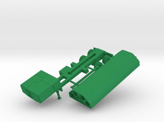 M-2042a1 GLCM TEL in Green Processed Versatile Plastic: 1:144