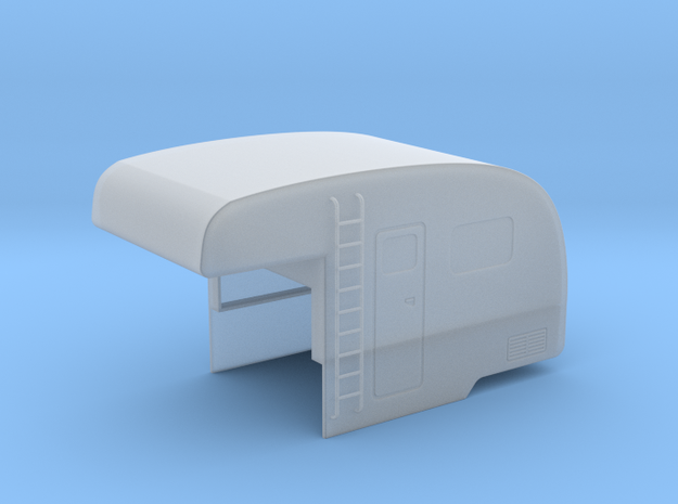 VW T2 Pickup Camper Shell in Smooth Fine Detail Plastic