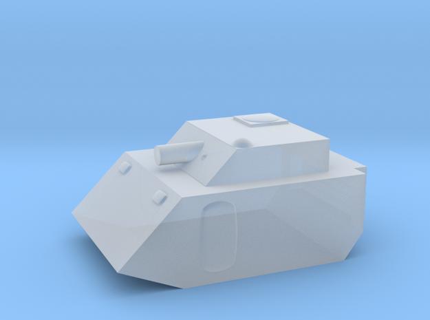 Fox2 Small Grav Tank 1:100 15mm in Smoothest Fine Detail Plastic
