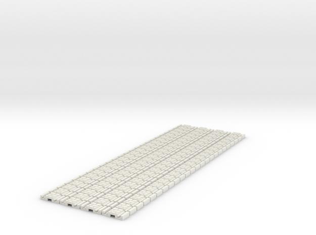 p-9stw-slim-flexi-tram-track-100-x96-1a in White Natural Versatile Plastic
