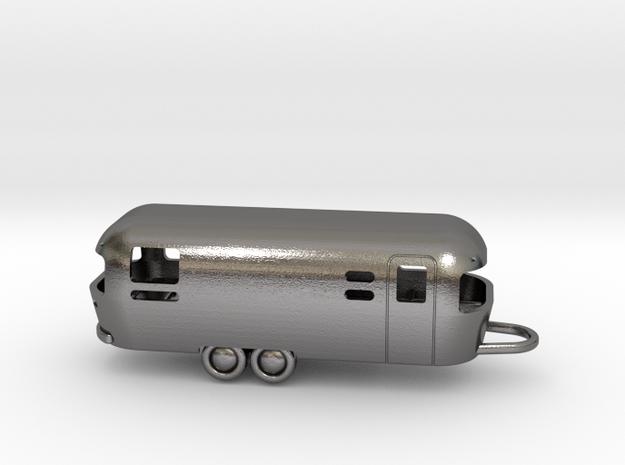 Airstream bottle opener in Polished Nickel Steel
