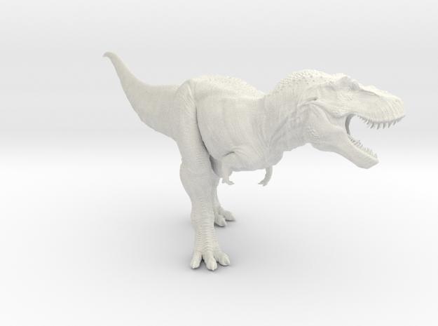 Tyrannosaurus Rex 1/40 DeCoster  in White Natural Versatile Plastic