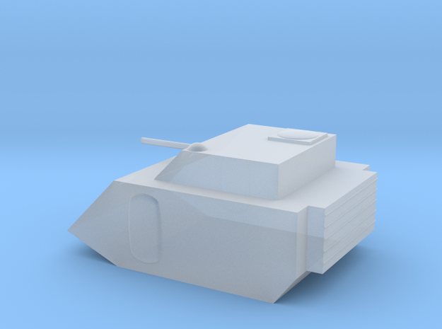 Fox Small Grav Tank 15mm in Smoothest Fine Detail Plastic