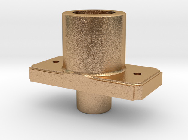 AC08 - FR Sprung Buffer body, tapered (SM32) in Natural Bronze