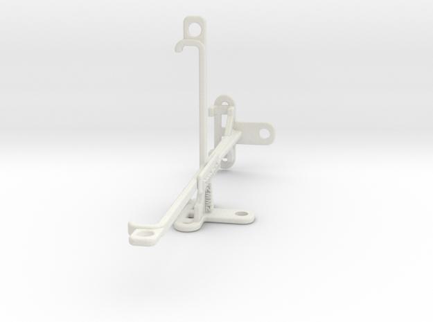 Asus Zenfone Max (M2) ZB633KL tripod mount in White Natural Versatile Plastic