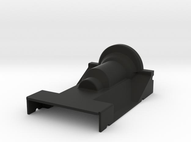 Delta Chassis Samurai Center Tunnel in Black Natural Versatile Plastic