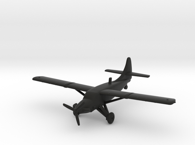 de Havilland Canada DHC-3-T Turbo-Otter in Black Natural Versatile Plastic