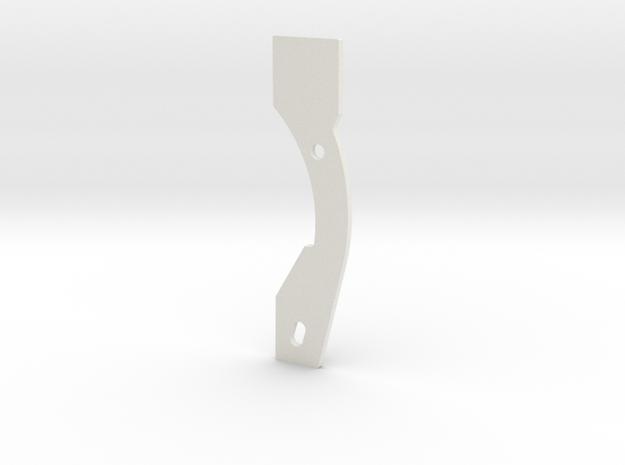 AUDI A4 B8 - PROJECTOR FOG LIGHT MOUNT BRACKET in White Natural Versatile Plastic