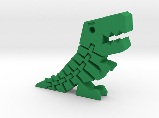 Flexible T-Rex in Green Processed Versatile Plastic