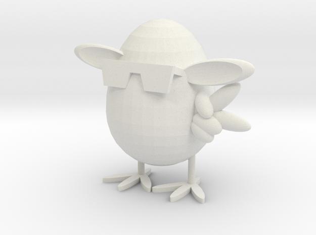 Eggg in White Natural Versatile Plastic: d00