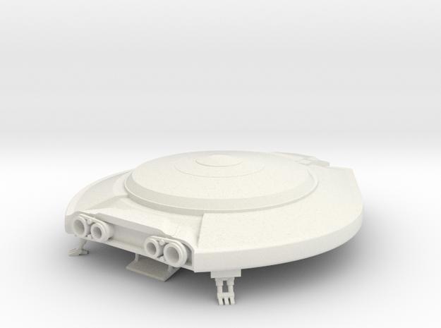 "Lost in Space Jupiter 2 Landed - 4"" in White Natural Versatile Plastic"