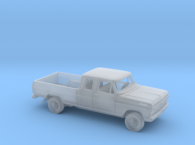 1/87 1970-72 Ford F-Series ExtCab Reg Bed Kit in Smooth Fine Detail Plastic