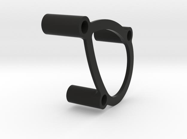 JConcepts - EGT, motor plate 360 spacer in Black Natural Versatile Plastic