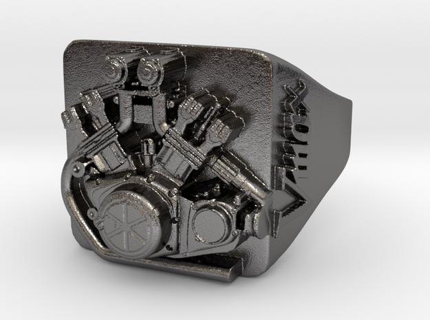 Bague Moteur Vmax in Polished Nickel Steel