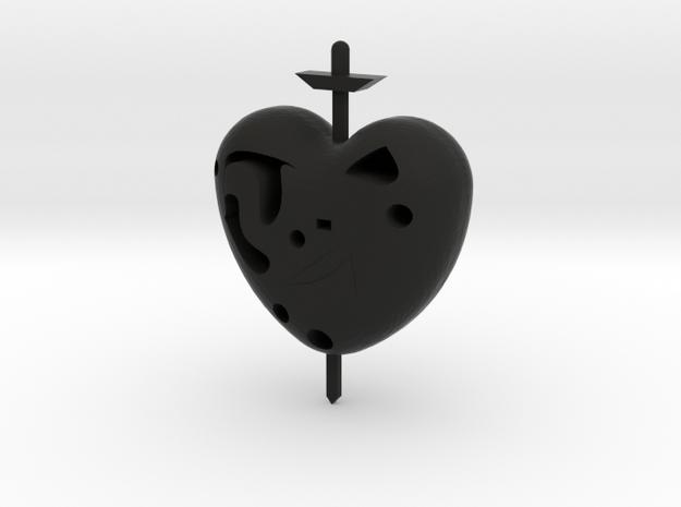 Love in Black Natural Versatile Plastic
