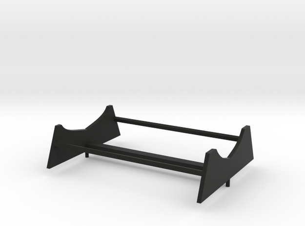 deZaan_87_FH_stand in Black Natural Versatile Plastic