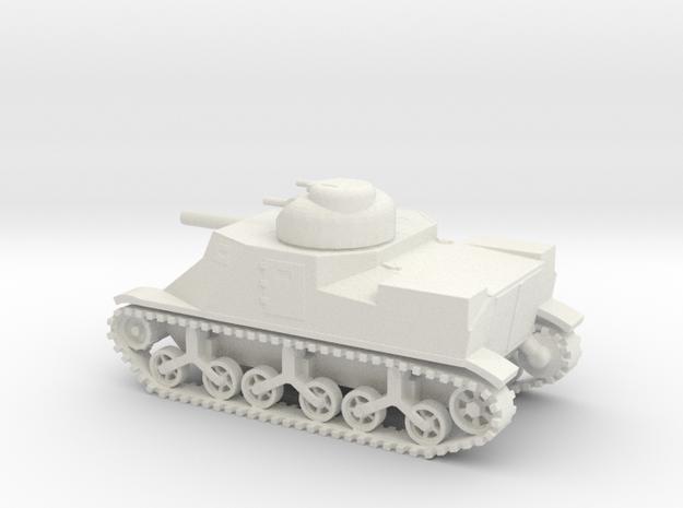 1/72 Scale M3 Lee Medium Tank in White Natural Versatile Plastic