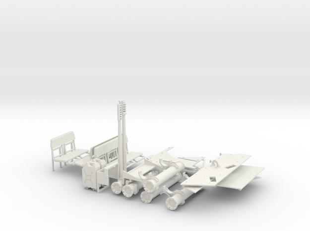 1:18 BUSK III SUPPLEMENT SET in White Natural Versatile Plastic