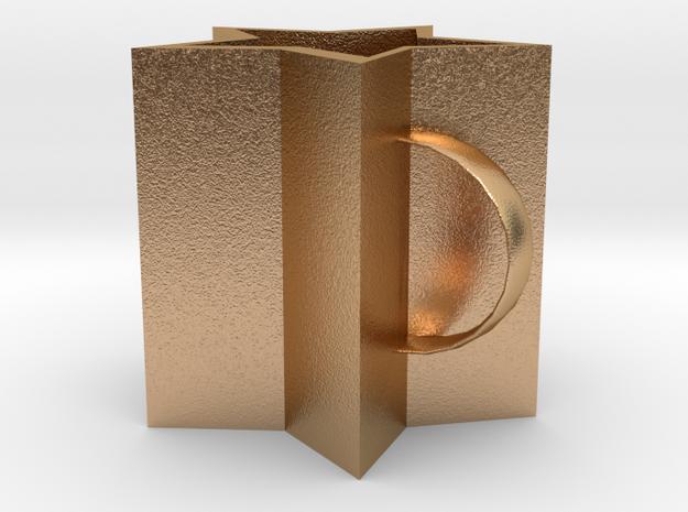 Star mug in Natural Bronze