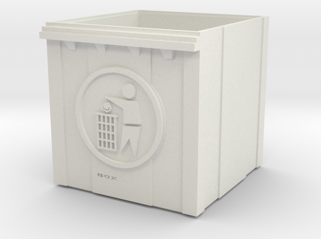 trash can in White Natural Versatile Plastic