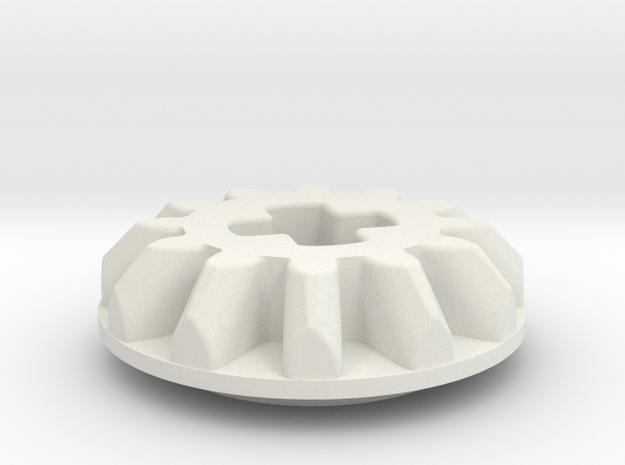 single bevel angled 12z in White Natural Versatile Plastic