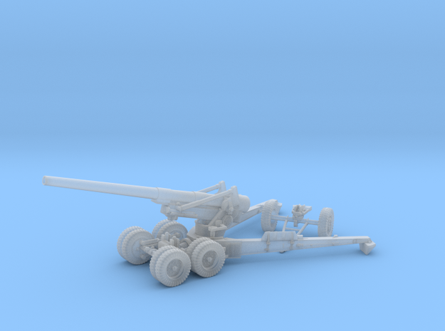 1/48 US 155mm Long Tom Cannon Open Fire Position