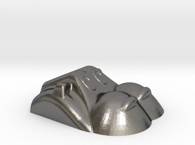 Hippopotamus-1 in Polished Nickel Steel