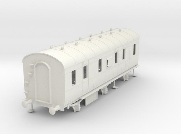 o-43-lms-d1796-6w-passenger-brake-coach in White Natural Versatile Plastic