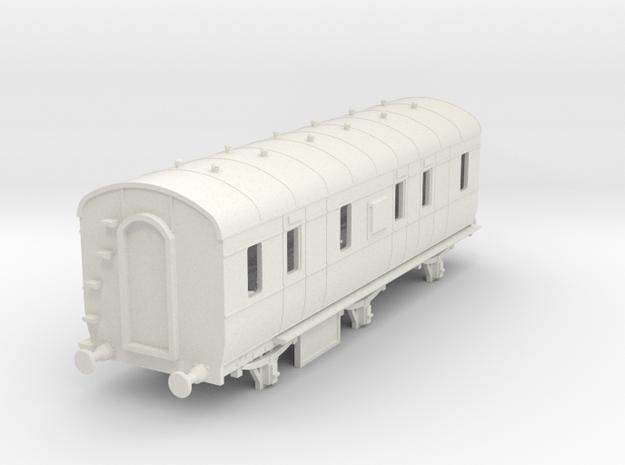 o-76-lms-d2000-6w-passenger-brake-coach in White Natural Versatile Plastic