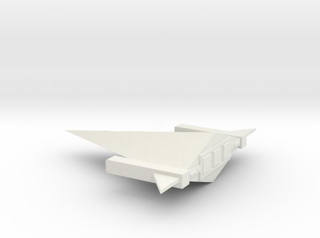 Anvil Escort in White Natural Versatile Plastic