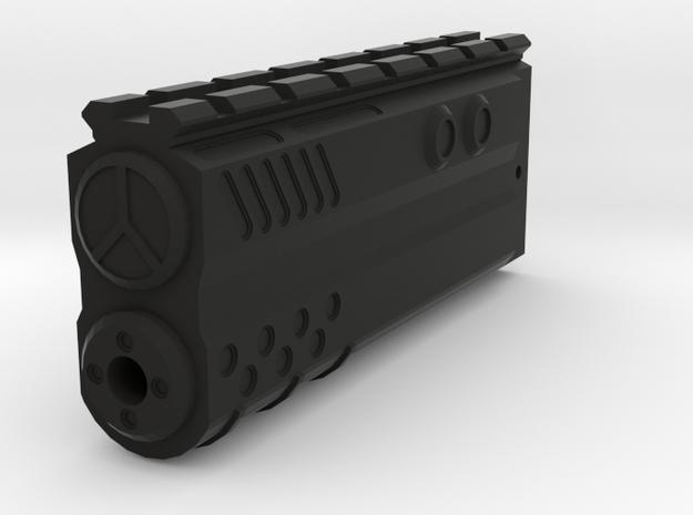 Incognito Blade Silencer for NITRO.Vo MP5K Top Rai in Black Natural Versatile Plastic