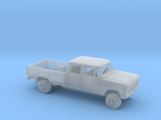 1/87 1978/79 Ford F-Series Crew Cab Long Bed Kit in Smooth Fine Detail Plastic