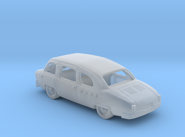 Nami Minivan 1948   1:120 TT in Smooth Fine Detail Plastic