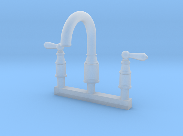 Bathroom Faucet - Traditional in Smooth Fine Detail Plastic