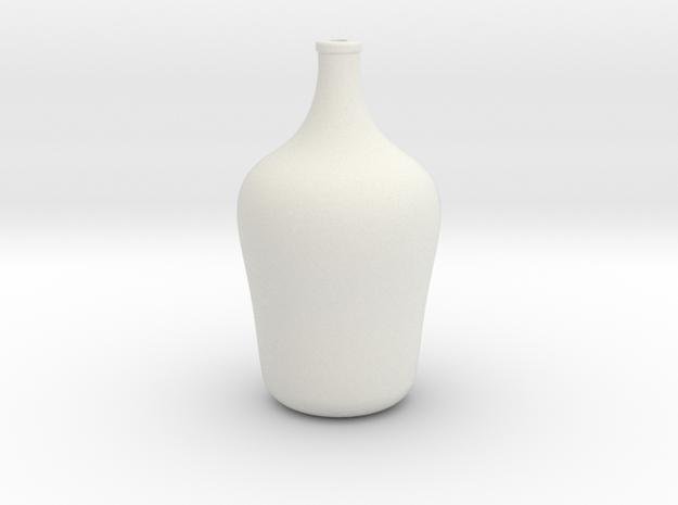 Floor Vase - Medium in White Natural Versatile Plastic